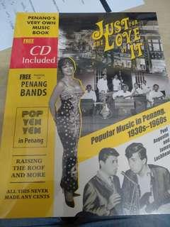 Just for the love of it: Popular Music in penang 1930s-1960s