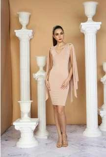 FOR RENT: Style Staple Cape Dress