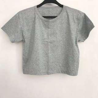 BN Grey Crop Top
