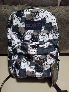 Hello kitty original backpack jansport brand new
