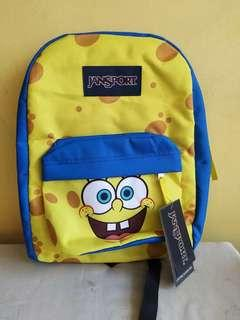 Spongebob original backpack brand new