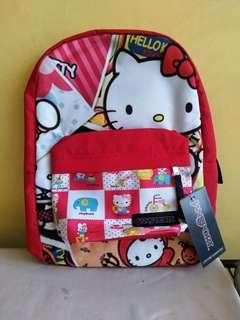 Hello kitty red origibal backpack