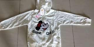 Jaket anak Minnie's hoodies