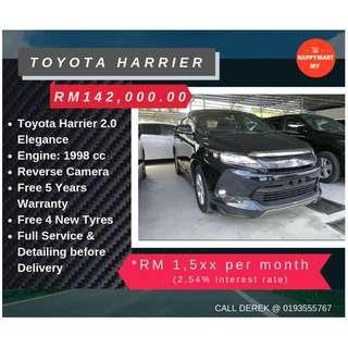 Toyota Harrier 2.0 Elegance Luxury SUV (Unregistered Recond)