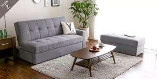 DARK GREY 3-Seat Sofa