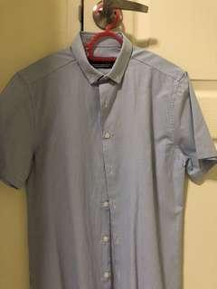 Topman shirt in blue