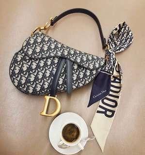 Dior馬鞍包