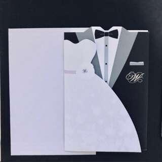 🚚 Wedding Invitation Card (3 boxes x 50pcs)
