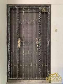 🚚 Resales wrought iron + main door fire rated