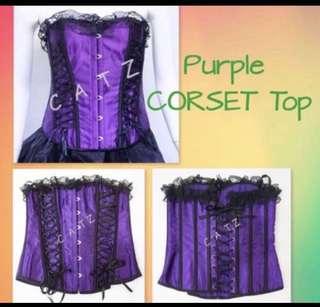 aae422d939 BN Warehouse Black Nude lace silk corset top uk6