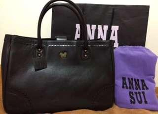 🚚 Anna sui 全新真皮OL款包包(可換包/換物)