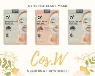 Bubble Black Mask Sheet (Masker Wajah)