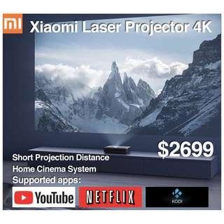 Xiaomi Laser Projector 4K