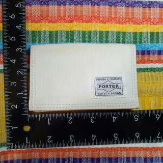 Original Porter Wallet card holder Made in Japan