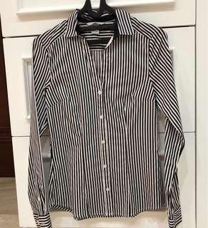 H&M - office shirt (stripe)