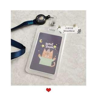 🚚 (Retractable) lanyard card holder | ezlink card holder | ID card holder