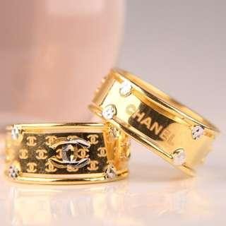 Chanel 916 Chunky Ring