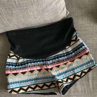 🚚 孕婦民族風短褲