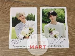 Official EXO x Nature Republic Photo Card