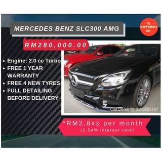 MERCERDES BENZ SLC300 AMG LINE