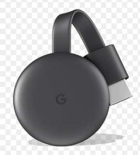 Google Chromecast Gen 3