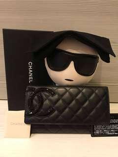 Chanel 康鵬康朋長夾零錢包 不含老爺