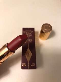 Charlotte Tilbury MATTE REVOLUTION WALK OF SHAME Berry rose matte lipstick 唇膏