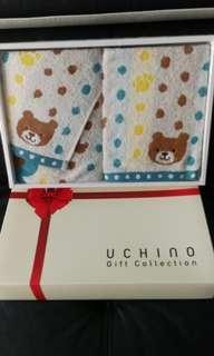 🚚 Uchino towel set