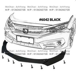 FRONT BUMPER DIFFUSER 6042#(Pointed)