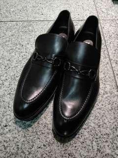 Italy Mengoli Lado Handmade Leather shoes 90% New Size 41