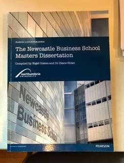 🚚 The Newcastle Business School Masters Dissertation