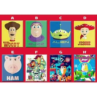 Toy Story Woody Buzz Poster Ref Magnet Souvenir Giveaway