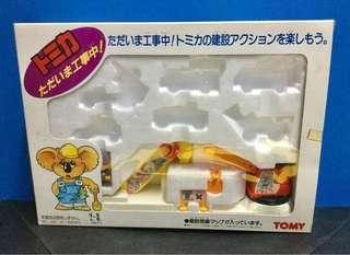 Tomica 工程情景及原裝Boxset盒