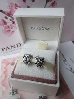 Authentic Pandora Theatre Mask Charm