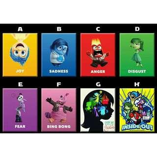 Inside Out Movie Poster Ref Magnet Souvenir Giveaway