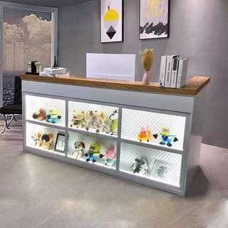 Counter Table With Shelving