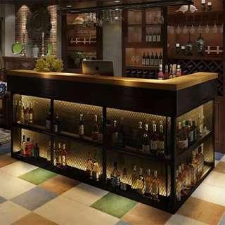 🚚 L Shape Bar Counter