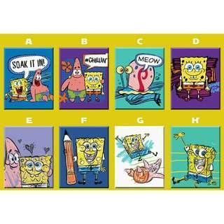 SpongeBob Ref Magnet Collectible Souvenir Giveaway