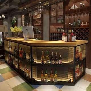 🚚 Octagon Shape Bar Counter