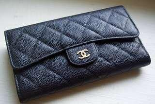 Chanel Long Classic Flap wallet