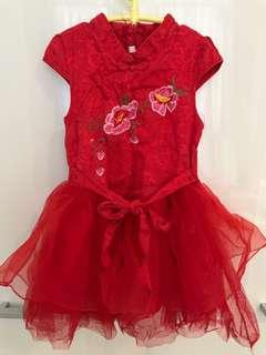 🚚 Chinese dress for 18-24months old girl