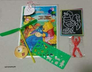 Goodie bag / loot bag for birthday kid / child / toddler / girl / boy