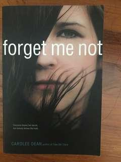 🚚 Forget me not