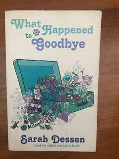 🚚 What happened to goodbye