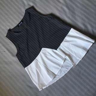 Stripe Layered Top