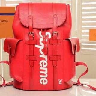 Supreme Premium Backpack CP1138 Unisex Bag Shoulder Bag