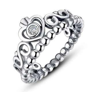 Pandora Princess Ring Silver