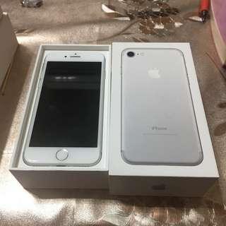 iPhone 7 128G 銀白(霧黑/曜石黑/玫瑰金/32/64/256)