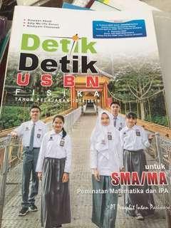 Buku DETIK-DETIK USBN FISIKA 2019