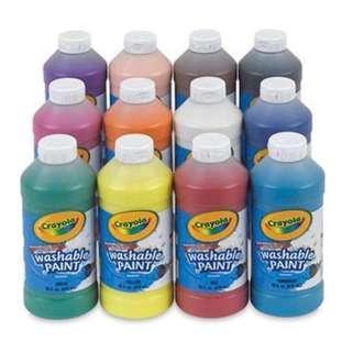 Crayola Washable Paint - various colours